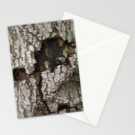 wounds of tree Stationery Cards