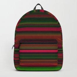 Hot Pink Multi Colors Design Backpack