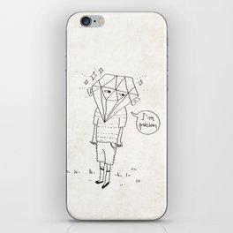 Diamond Boy iPhone Skin