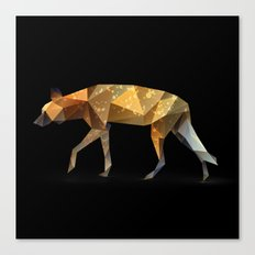 Wild African Dog. Canvas Print