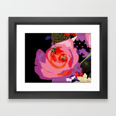 Flowers Series_v01 Framed Art Print
