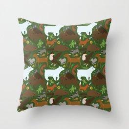 Manitoban Wildlife—Large Throw Pillow