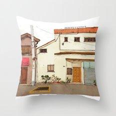 Tokyo Street 4 Throw Pillow
