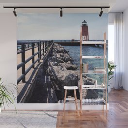 Charlevoix Light House Wall Mural