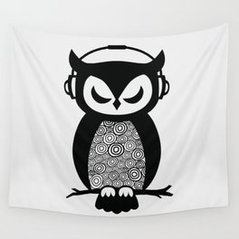 Nocturnal Beats Wall Tapestry