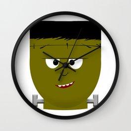 Halloween Frankenstein's Monster Wall Clock