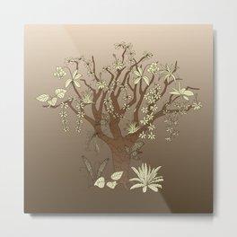 epiphytes tree Metal Print