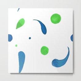 Color drops Metal Print