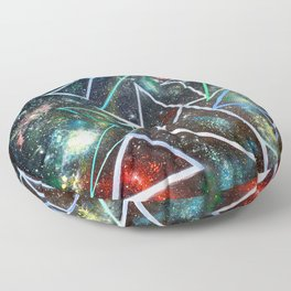 My Father's Star Charts Floor Pillow