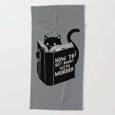 How to get away with murder Beach Towel