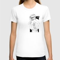 tatoo T-shirts featuring tatoo tanga & cigarette by kingsimon