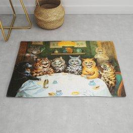 Kitty Happy Hour - Louis Wain's Cats Rug