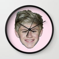 niall Wall Clocks featuring Niall by 2fab4you