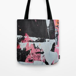 Profoundly [1]: a vibrant abstract piece in blues magenta and orange by Alyssa Hamilton Art Tote Bag