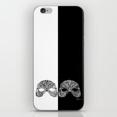 Two Sides of A Mask iPhone & iPod Skin