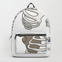 Gym Skeleton Backpack