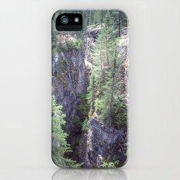 Maligne Canyon 2 iPhone Case