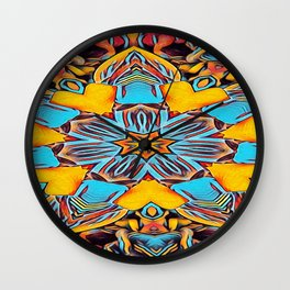 The Departed of Achilles 8 Wall Clock
