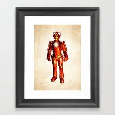 Cyber Stark Framed Art Print