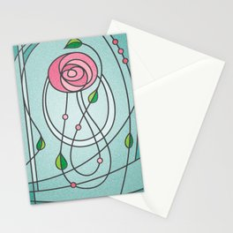Mackintosh Rose Stationery Cards