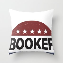Cory Booker 2020  - Cory Booker  Throw Pillow