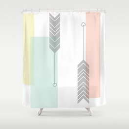 Love Struck Shower Curtain