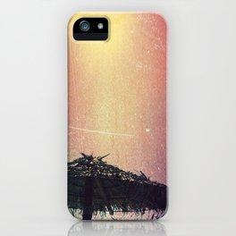Burnt Beach iPhone Case