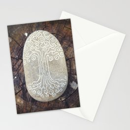 Spiritual symbol. Tree of Life. Stationery Cards