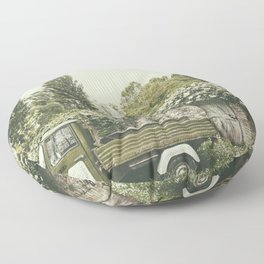 Italian country life Floor Pillow