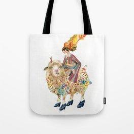 The sheep and the princess Tote Bag