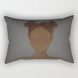 Two Buns Rectangular Pillow