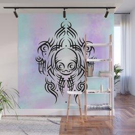 Alien Tribal Tattoo Wall Mural