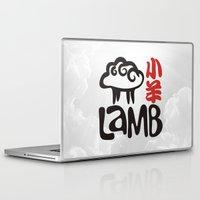lamb Laptop & iPad Skins featuring Lamb by biblebox