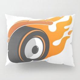 hot whe[y]el Pillow Sham