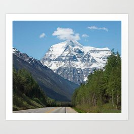 Mount Robson Photography Print Art Print