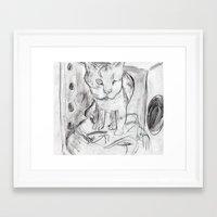 popeye Framed Art Prints featuring popeye by Jenwards