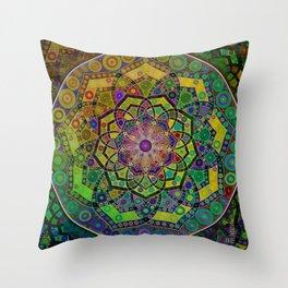 Unfolding Magic Throw Pillow