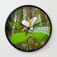 giants Wall Clocks featuring AMONG GIANTS by Jennifer E. Snyder