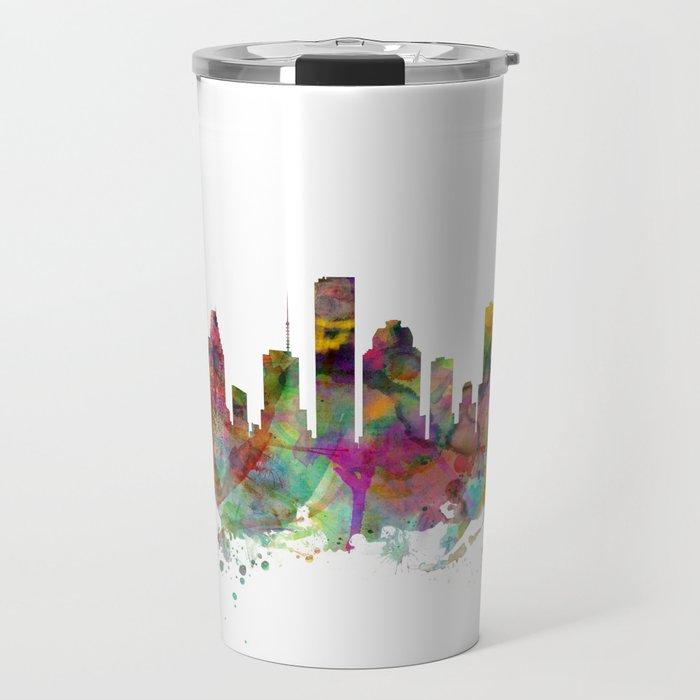 Houston Texas Skyline Travel Mug