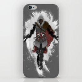 Assasins Grey iPhone Skin