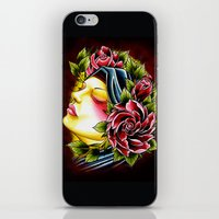 gypsy iPhone & iPod Skins featuring Gypsy by Voss fineart