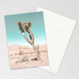 Vintage Desert Scape // Cactus Nature Summer Sun Landscape Photography Stationery Cards