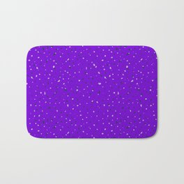 Speckles II: Purple Bath Mat