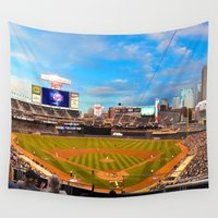 minnesota Wall Tapestries featuring Minnesota Twins by John Andrews Design