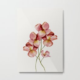 Soft Flowers Metal Print
