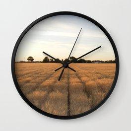 Rows Wall Clock