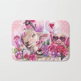 Dreaming of a Sweet Valentine Bath Mat