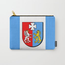 flag of podkarpackie or Subcarpathia Carry-All Pouch