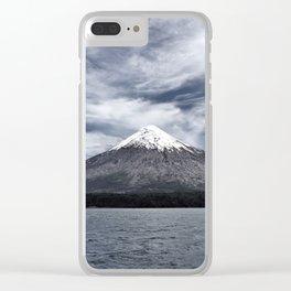 Volcano Osorno Clear iPhone Case