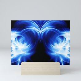 abstract fractals mirrored reacc80c82 Mini Art Print